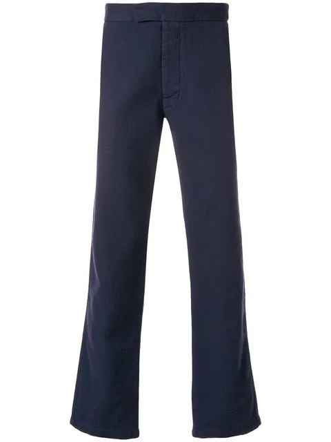 Maison KitsunÉ Nico Chino Trousers - Blue