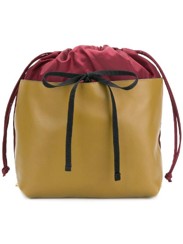 Marni Panel Drawstring Backpack