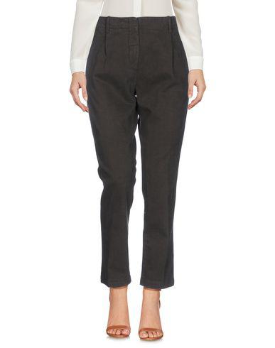 Aspesi Casual Pants In Dark Brown