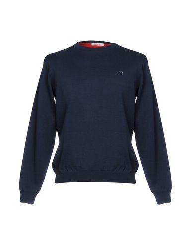 Sun 68 Sweaters In Dark Blue