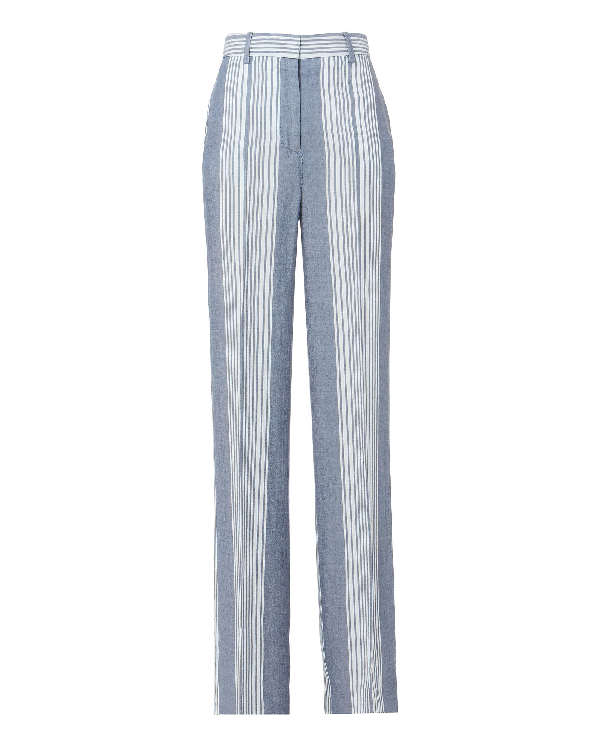 Victoria Victoria Beckham Stripe Pajama Wide Leg Pants