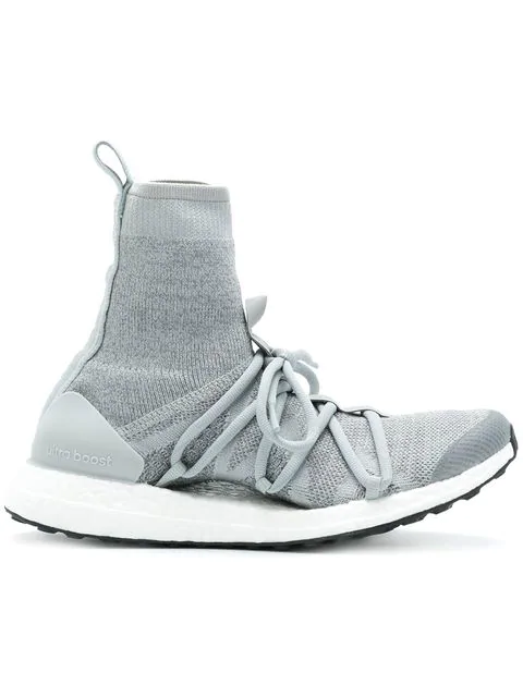 Adidas By Stella Mccartney Ultraboost X Mid Sneakers In Grey