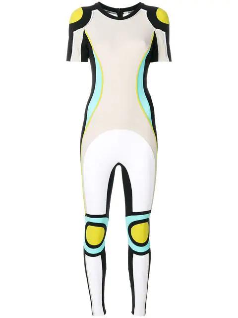 No Ka'oi No Ka' Oi Compression Jumpsuit - Multicolour