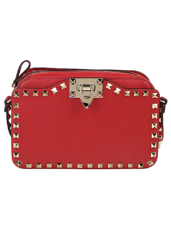 Valentino Cross Body Shoulder Bag In Rosso
