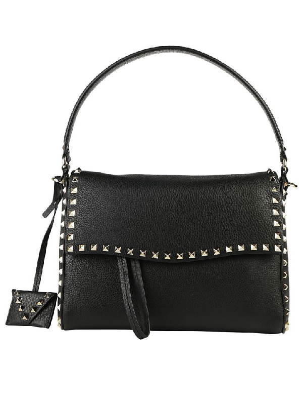 Valentino Handbag In Nero