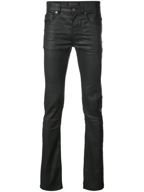 Versace Waxed Skinny Jeans