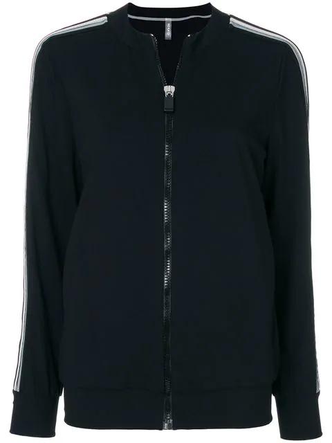 No Ka'oi No Ka' Oi Zipped Sports Jacket - Black