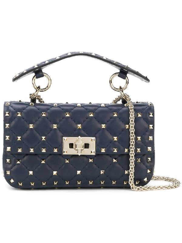 Valentino Rockstud Spike Small Chain Bag