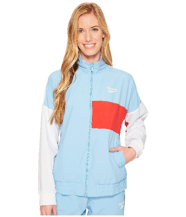 Reebok Classics Vector Jacket, Blue/white
