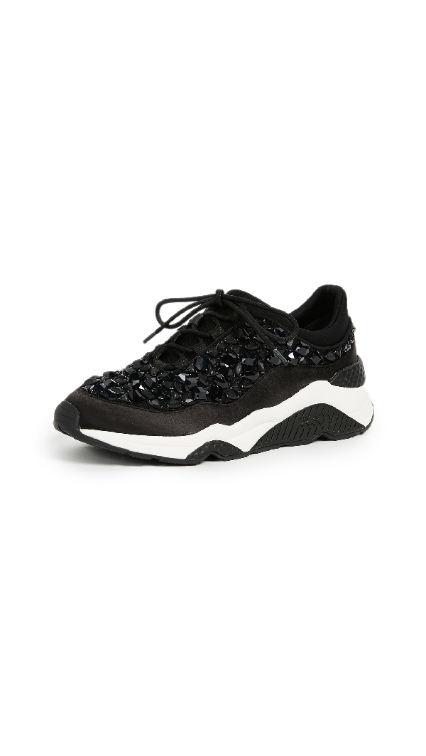 Ash Muse Stone Sneakers In Black
