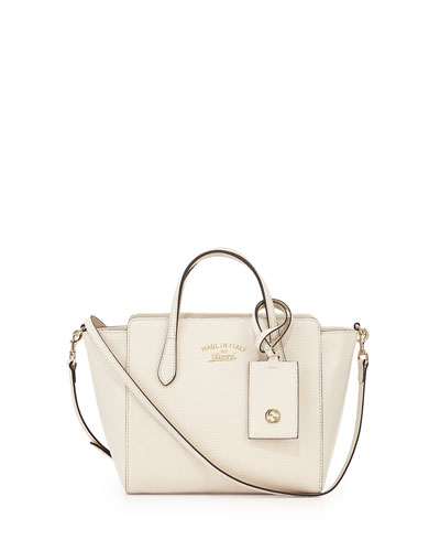 d25812f9e6d5 Gucci Swing Mini Crossbody Bag, White | ModeSens