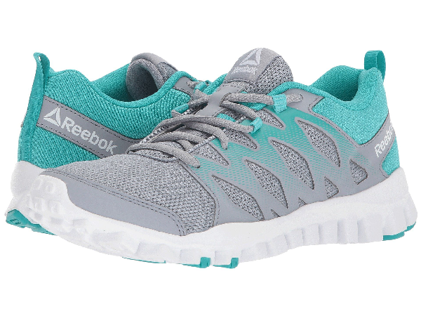 Reebok Realflex Train 4.0 In Cool Shadow/solid Teal/white
