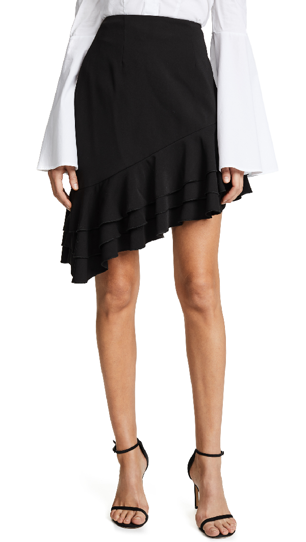 C/meo Collective Temptation Skirt In Black