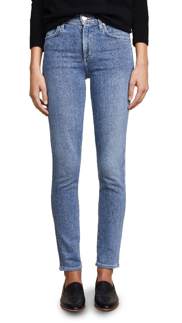 Goldsign The Profit Ankle Skinny Jeans In Plane