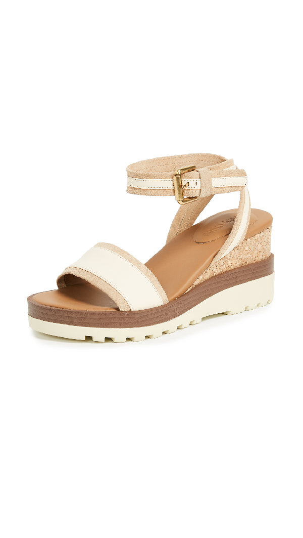 See By ChloÉ Robin Wedge Sandals In Burro