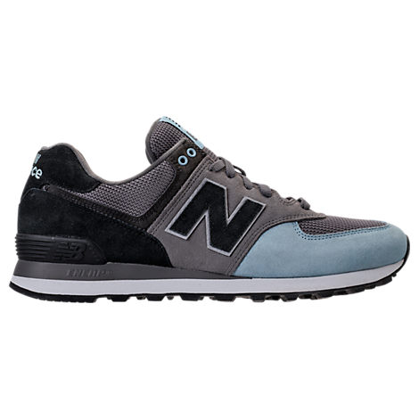 New Balance Men's 574 Casual Sneakers From Finish Line In Grey