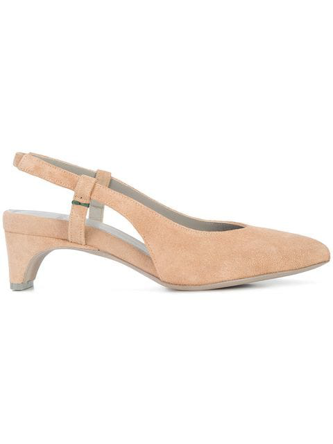 Aeyde Slingback Pumps - Neutrals In Nude & Neutrals