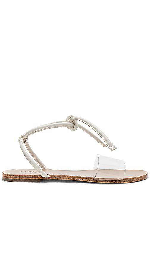 Raye Weston Sandal In White