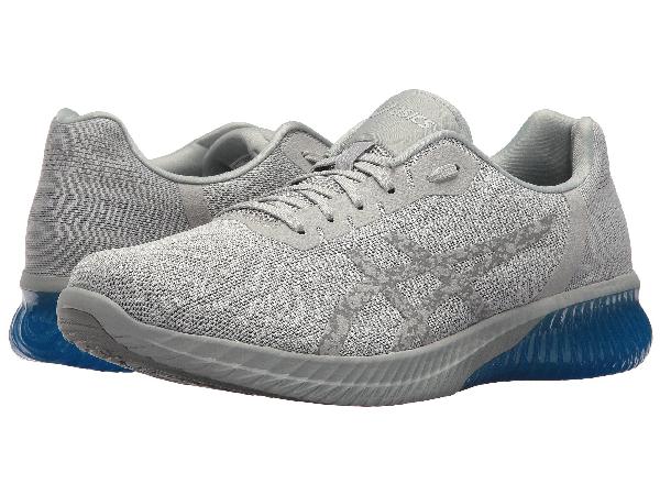 Asics Gel-kenun In Grey/grey/electric Blue