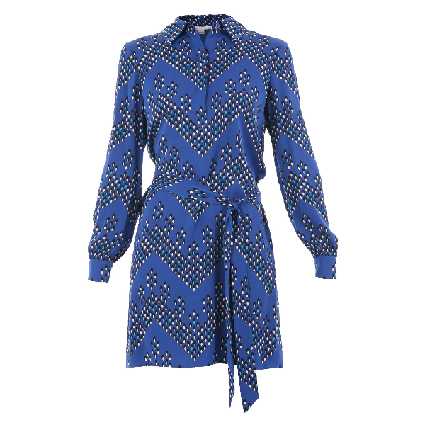 Diane Von Furstenberg Seanna Dress In Blue