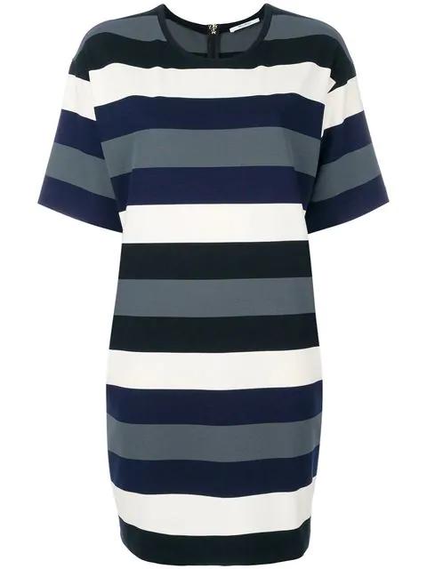Max Mara Tefrite Stripes Dress - Multicolour
