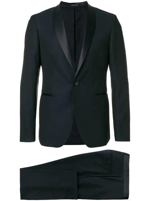 Tagliatore Dinner Suit - Black