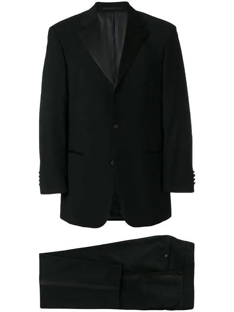 Hugo Boss Two Piece Tuxedo Suit In 10