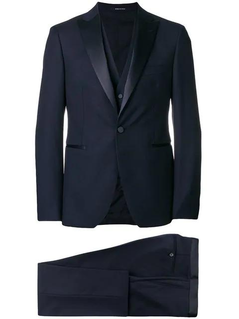 Tagliatore Suit In Blue