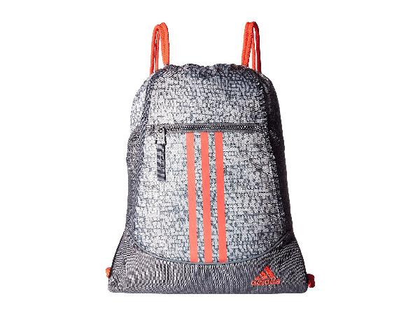 Adidas Originals Alliance Ii Sackpack, Dapple White/grey/flash Red
