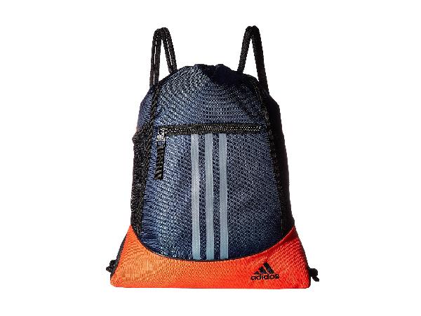 Adidas Originals Alliance Ii Sackpack, Collegiate Navy/hi-res Red/black/grey