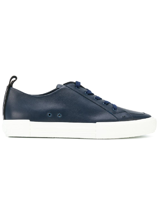 Fendi Classic Lace-up Sneakers - Blue