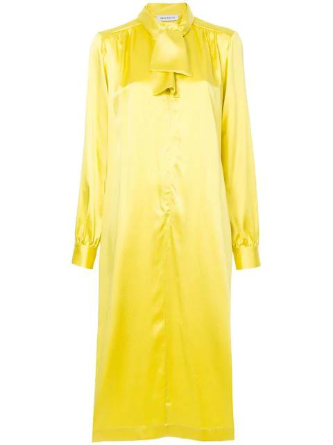 Saks Potts Neck-tied Shirt Dress