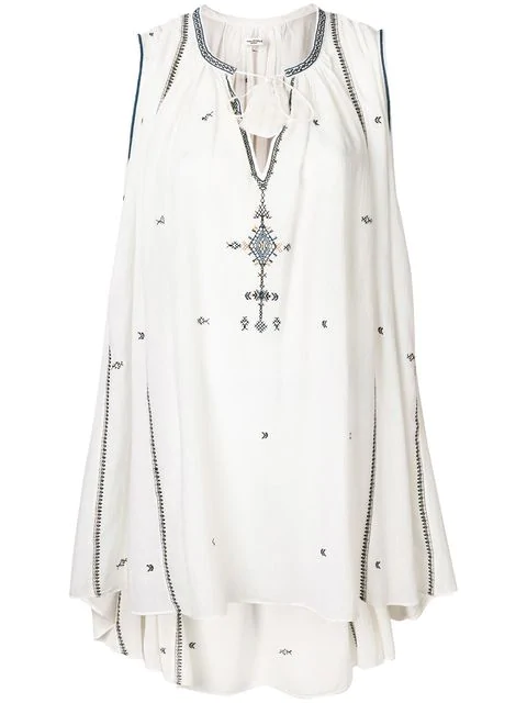 Etoile Isabel Marant Belissa Embroidered Dress