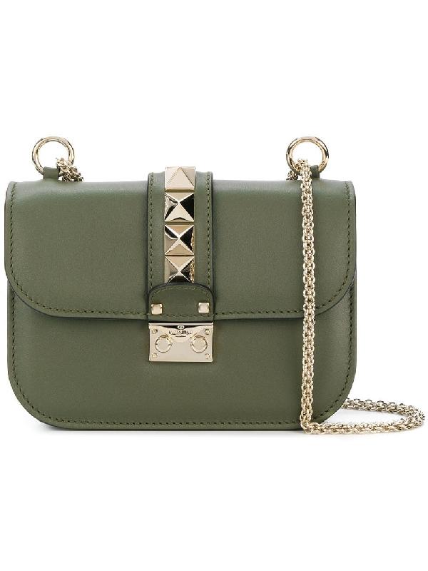 Valentino Rockstud Lock Cross-body Bag