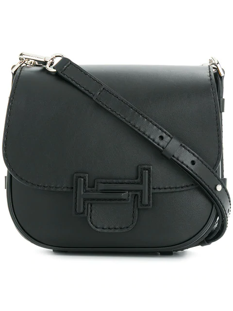 Tod's Double T Shoulder Bag - Black
