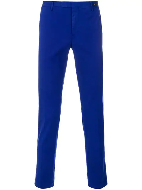 Pt01 Slim-fit Chinos - Blue