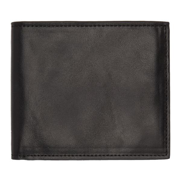Officine Creative Black Boudin Nappa Wallet