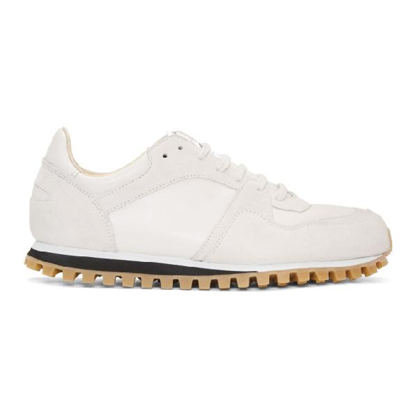 Spalwart White Marathon Trail Sneakers