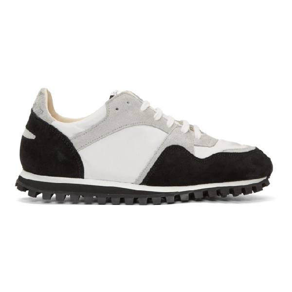 Spalwart Black And Grey Marathon Trail Sneakers