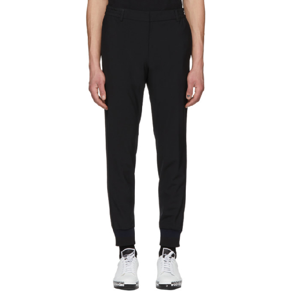 Wooyoungmi Black Lounge Trousers