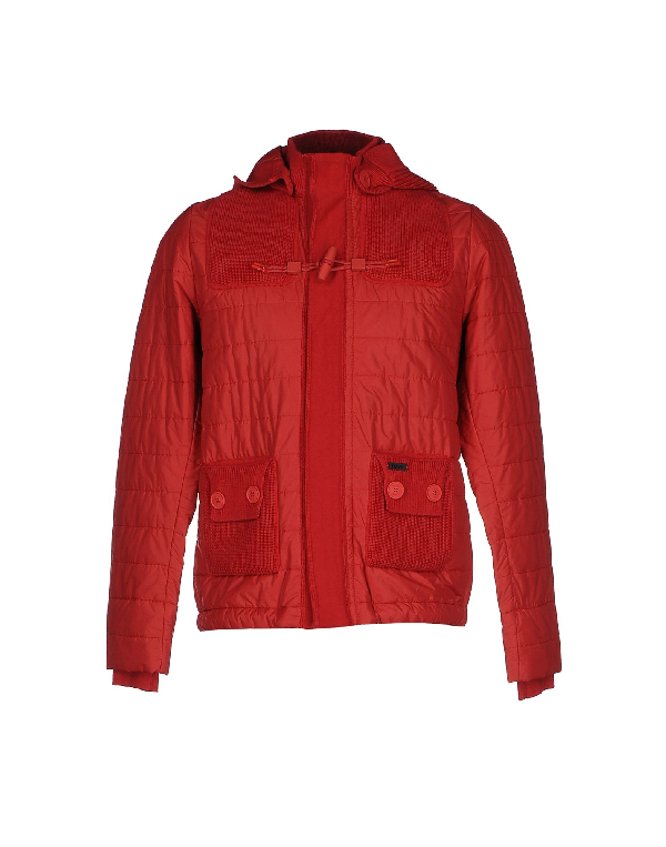 Bark Jacket In Red