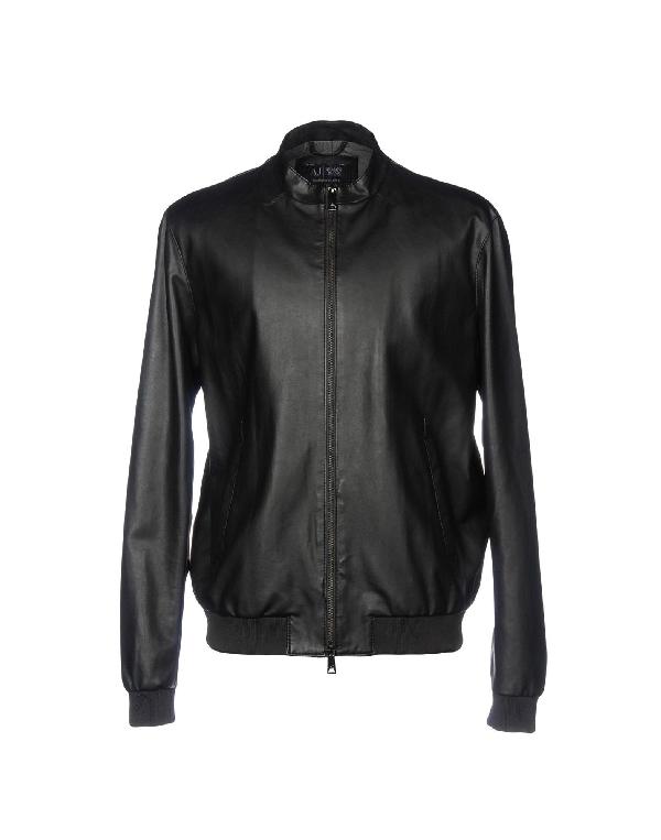 Armani Jeans Jackets In Black