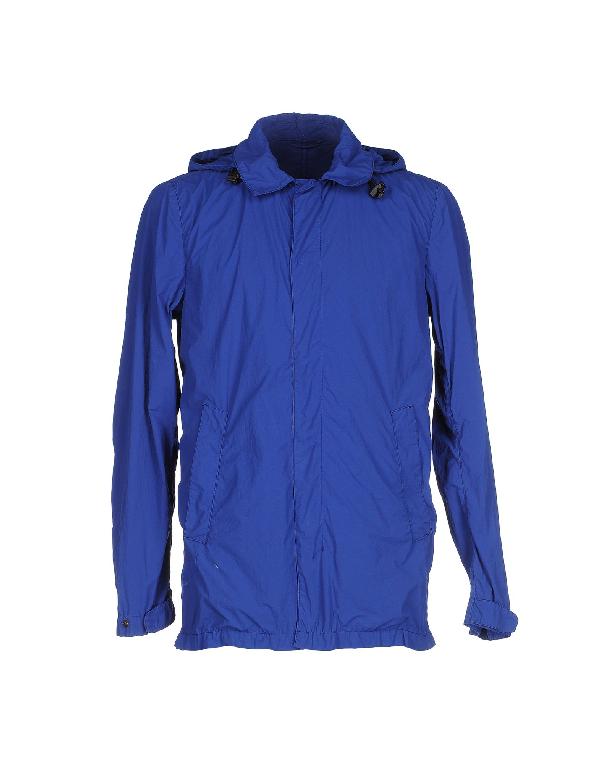 Aspesi Jacket In Blue