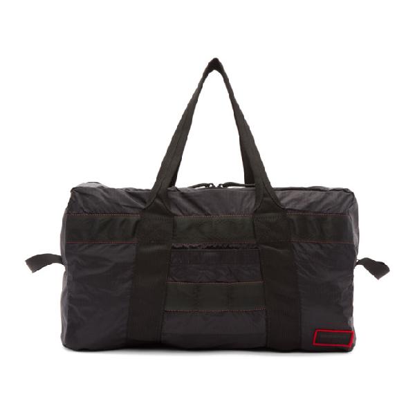 John Elliott Black Convertible 2-in-1 Duffle Bag