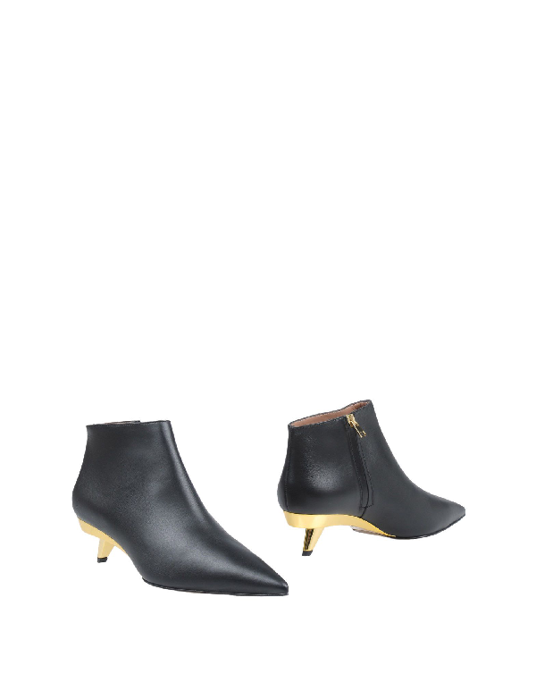 Marni Ankle Boot In Black