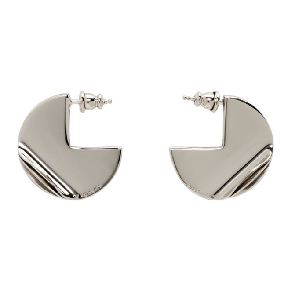 Givenchy Gold G-ometric Round Earrings