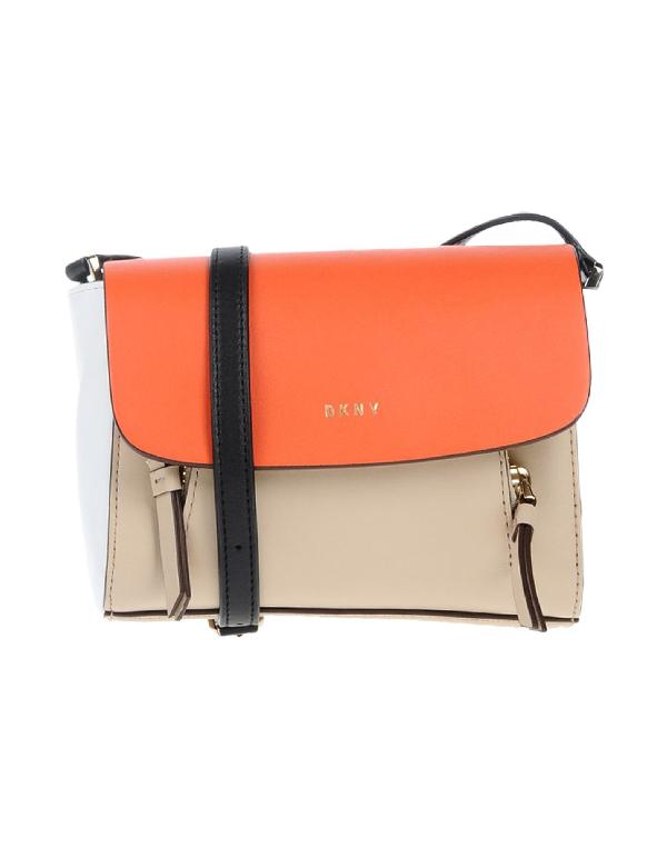 Dkny Handbags In Orange