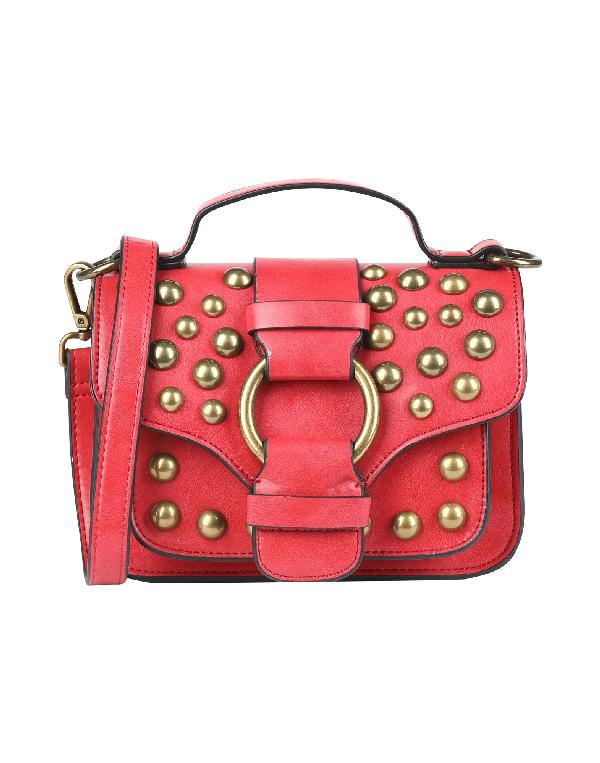 Essentiel Antwerp Handbag In Red