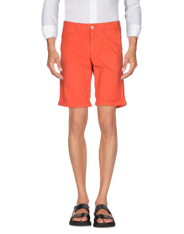 Woolrich Shorts & Bermuda In Orange