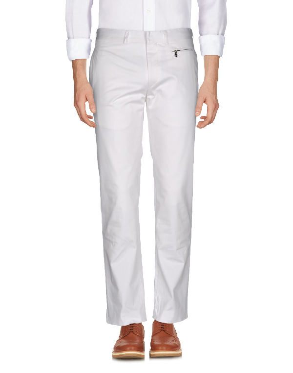 Karl Lagerfeld Casual Pants In White